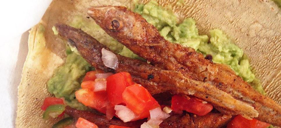 Tacos de charales